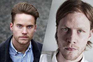 Petter Arbman och Tobias Gerhardsson.