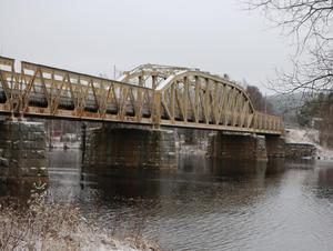 Foto: Eleonor MattssonJärnvägsbron i Sveg kan bli upplyst.