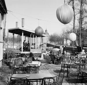 Frimurarholmen på 1960-talet. Okänd fotograf. Bildkälla: Örebro stadsarkiv