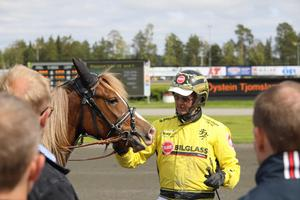 Öystein Tjomsland kvalificerade hela sex finalister till finalen i Derbyt och Derbystoet den 24:e juli.