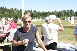 Johanna Hammarstrand från Sundsvalls Ridklubb.