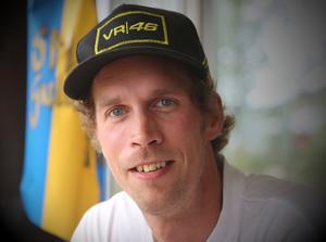 """Efter 22 år på tävlingsbanorna slutar Johan Eriksson. """"Nån gång måste jag ta beslutet och just mu finns inte det rätta suget för att fortsätta."""""""