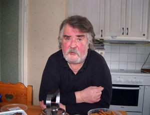 Hans Fahlström är förbannad på Landstinget.Foto: Carin Selldén
