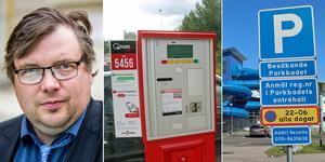Henrik Olofsson är kritisk till betalningssystemet för parkeringen på bland annat Gävle sjukhus. Han föreslår ett liknande system som finns på Parkbadet i Sandviken. Bild: Henrik Nyblad/Roger Wallenius