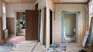 Nuvarande ägare är intresserade av byggnadsvård och har renoverat huset själva.