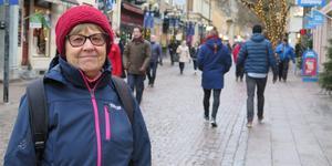 Marianne Wilhelmsson, 76, Frösön.