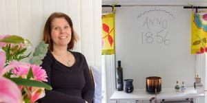 """""""När jag stod i dörren kände jag att jag vill bo här själv, inte hyra ut huset som jag först tänkt"""", säger Simone Lundh."""