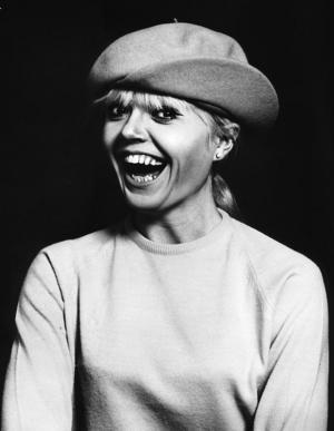Laila Westersund, svensk sångerska och skådespelerska, på en bild från 1970. Foto: TT