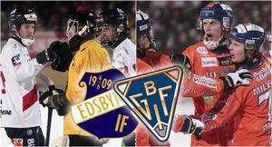 Edsbyn och Bollnäs möts åter i SM-slutspelet – i potten ligger en semifinal där segraren högst troligt får möta den här säsongens storfavorit Villa Lidköping.