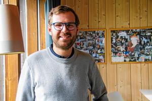 Gabriel Andersson, ordförande i Knäppmora AIK,