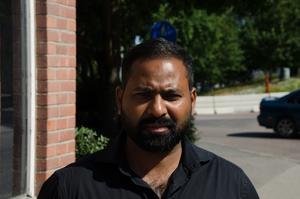 Venkata Soudham, 35 år, civilingenjör, Ånge: