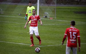 Shpetim Hasani har gjort tre mål för Nora i division 2-spelet.