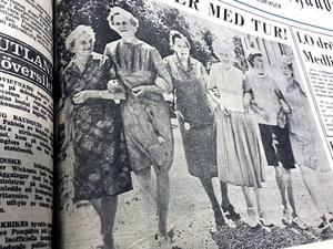 Ur NA 18 juni 1969: Sex damer i Köping berättade denna dag om sin vinst i Penninglotteriet.