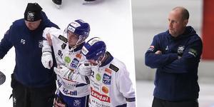 Petter Björling bröt semifinalen redan i den första halvleken. Bild: Staylive, Jonna Igeland