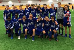 Ångermanlands 02:or möter Västmanland i semifinal i distriktspojkturneringen.                                                        Bild: ÅFF