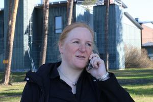 Kristina Kenning Östling är VA-chef vid Östersunds kommun och ansvarig för byggandet av det nya vattenverket.