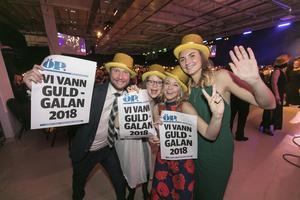 Gänget bakom STF Jämtland Härjedalen hade anledning att fira under galan i fjol. De tog hem priset Årets Turismföretagare.