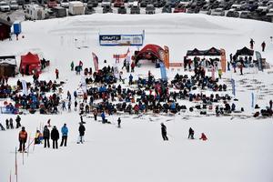 Orsa Grönklitt avslutar den alpina tävlingssäsongen med OrsaCup med över tusen starter under två dagar.
