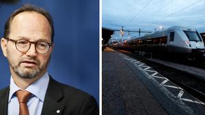 Regeringen har satt ner foten om utbyggnaden av dubbelspår mellan Gävle och Härnösand. Det blir ett tillskott på 1,7 miljarder utöver det som Trafikverket föreslog. Infrastrukturminister Tomas Eneroth (S) hade däremot inte tid att svara på ST:s frågor.