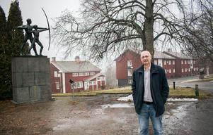 Rektor Jörgen Hammarin är noga med att understryka att Brunnsviks folkhögskola aldrig har varit nedlagd. Samtidigt medger han att det det känns skönt att man nu har börjat hitta tillbaka till Ludvika.