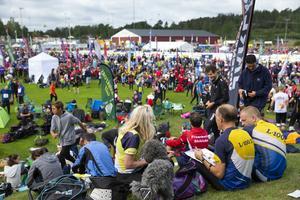 Startplatsen på O-Ringen. Foto: Fredrik Persson