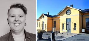 Elin Johansson är vice ordförande för studentkåren i Östersund och berättar om den nya studentpuben på campus.