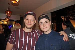 Emil Ramström och Oskar Andersson. Foto: Py Tenor