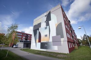 """Tony """"Rubin"""" Sjömans graffitikarriär har tagit honom till en tillvaro i New York. I somras gjorde han återbesök i Sverige och målade på Vinddraget i Andersberg."""