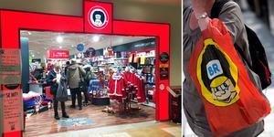 Två butiker i Sundsvall riskeras att läggas ned.