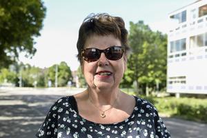 Lisbeth Lundberg, 73 år, arbetande pensionär, Sundsvall.