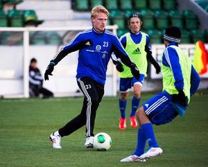 Nicklas Maripuu kan hamna på Åland. Foto: Robin Nordlund.