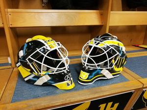De nya maskerna. Foto: Marcus Aineskog
