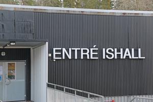 Ishallen på Kvarnängens IP.
