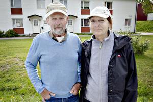 Bo Stenbäck, 74 år, pensionär, Årsunda och Gunilla Stenbäck, 70 år, pensionär, Årsunda.