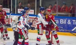 Kevin Goumas var ödmjuk med tydlig – för att vinna mot topplagen ska man spela som mot IKO. Foto: Elin Bergvik Eriksson