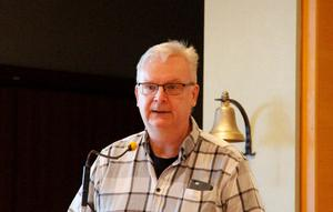 Jan-Christer Jonsson gjorde sitt sista sammanträde som ordförande i kultur - och tekniknämnden.