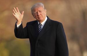 Donald Trump är på god väg att riva ner förtroendet för såväl medier som presidentämbetet i USA.  Foto: Pablo Martinez Monsivais.