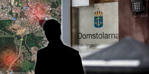 En man i övre tonåren är misstänkt för två våldtäkter i centrala Falun.