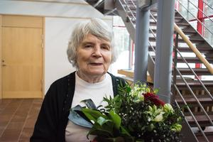 Vera Oredsson är en känd medlem av NMR och tidigare medlem i SA. Här i Falu tingsrätt åtalad för hets mot folkgrupp.