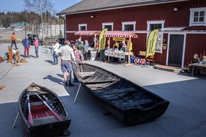 Några av de som var med under dagen var Vikingabyn- Storholmen, Rådmansö hembygdsförening och lokala träbåtstillverkare.
