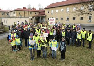 Det hjälpte inte att mobilisera för att bevara Ytterlännässkolan. Nu hoppas det nybildade partiet att kunna locka röster som en medborgarprotest.