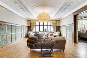 I huset finns en lägenhet i varje våningsplan. Foto: Kristian Pettersson/SE 360