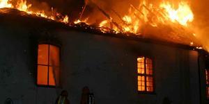 Katastrofen var total. På exempelvis Lisö brändes samtliga 33 gårdar och torp. I Torö socken alla 65. Foto: Johan Främst/TT