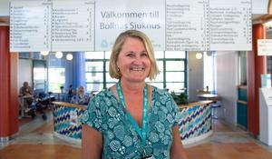Birgitta Dackell är verksamhetschef för akutvård och internmedicin på Aleris i Bollnäs. Hon försäkrar att patienterna ingen som behöver vård kommer att nekas.