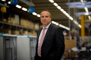 Roland Kasper, vd för Systemair. Foto: Pressbild