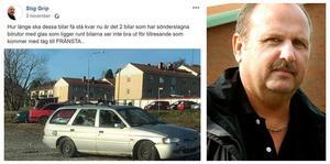 Stig Grip (M) tycker det är dags att kommunen tar tag i skrotbilsfrågan som bland annat blivit en nagel i ögat för många Fränstabor.