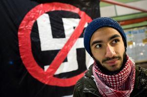 Daniel Riazats partipolitiska engagemang började som aktivism mot rasistiska organisationer.