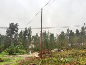 Arbetsplatsolyckan inträffade i Fjäle i samband med kabeldragning.