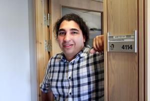 Armin Fattah hinner med att inspektera allt från en till fem livemedelsföretag om dagen.