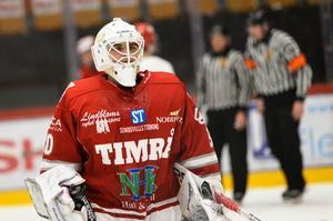 Trots storspel kunde inte Jakob Hellsten få hans Timrå att slå in matchbollen mot Modo.